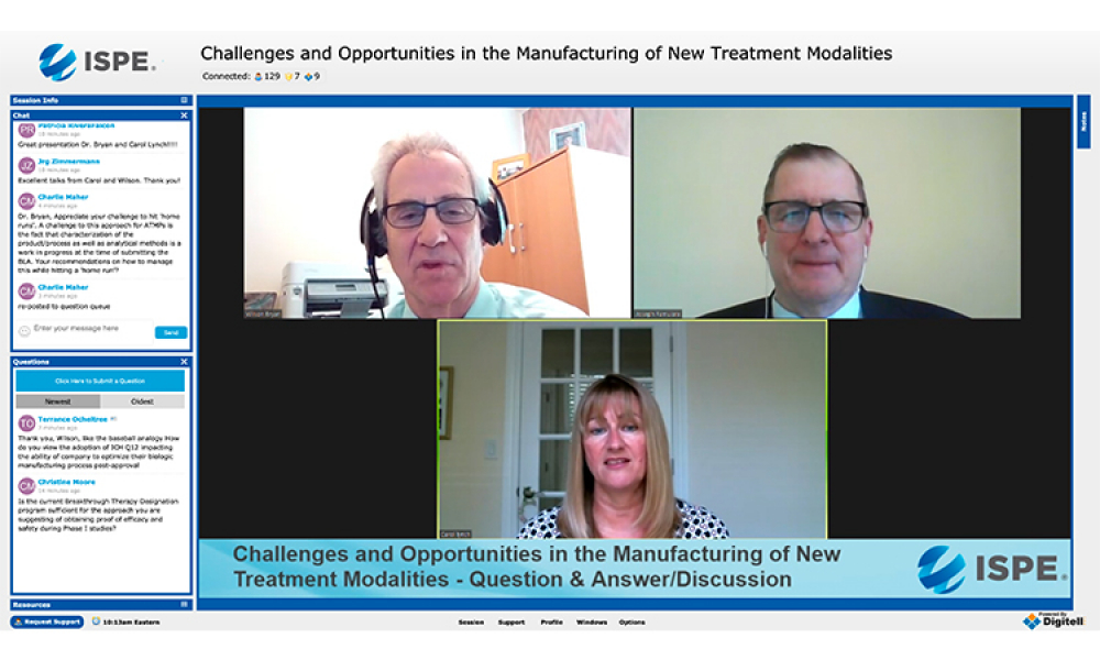 Biosimilars & Gene Therapy Development Open ISPE's 1st Virtual Conference