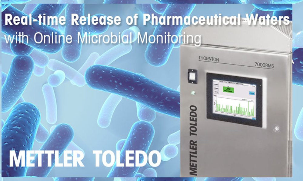 Real-Time Release of Pharmaceutical Waters with On-Line Microbial Monitoring