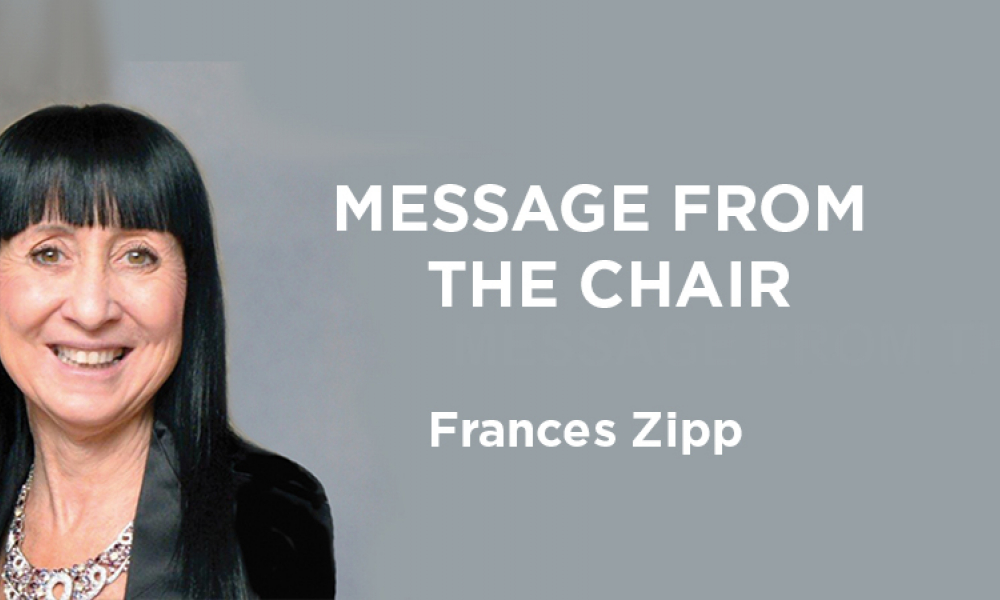 Message from the Chair: The Future Belongs to All of Us