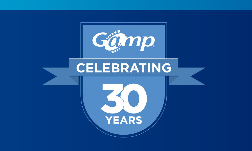 Happy 30th Anniversary to the Gamp® Community of Practice!