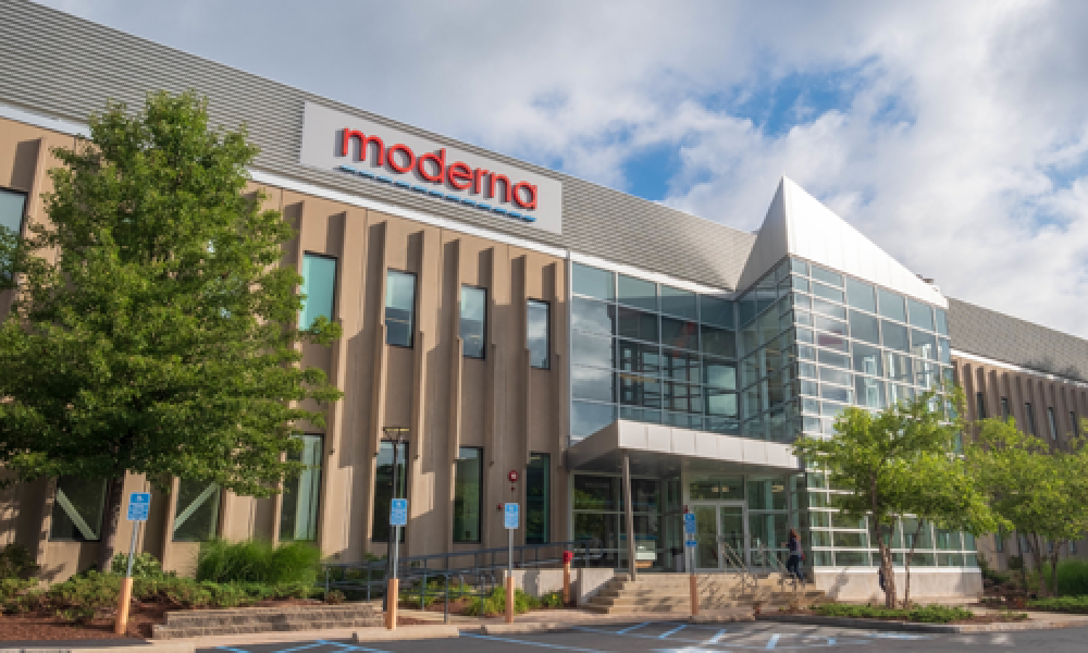 Moderna, Inc. - Facility  of the Future Winner