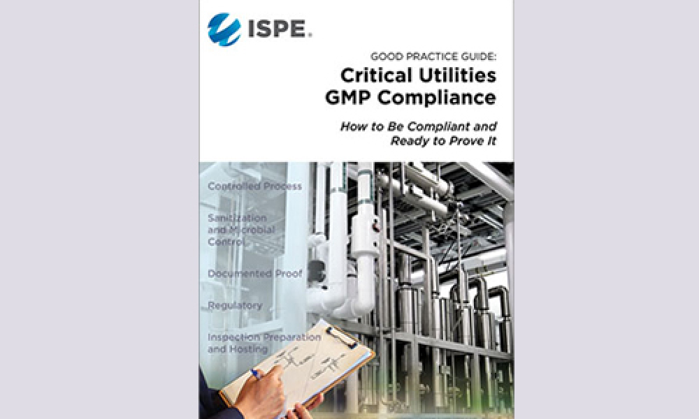 ISPE Good Practice Guide: Critical Utilities GMP Compliance Cover