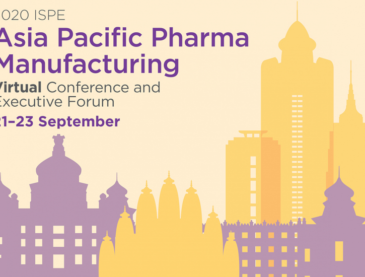 2020 ISPE Asia Pacific Pharma Manufacturing Virtual Conference & Executive Forum