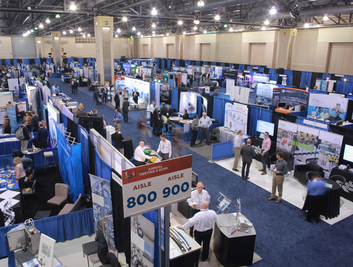 Exhibit Hall at the 2018 ISPE Annual Meeting & Expo
