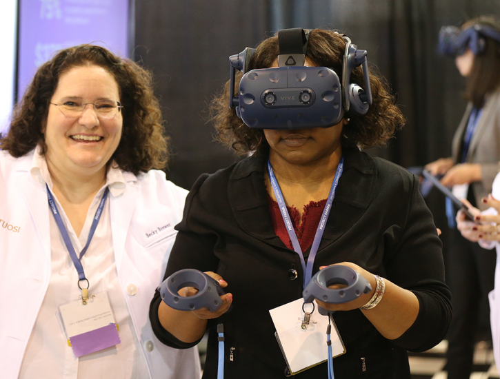 Virtual Reality Demo in Expo Hall at 2018 ISPE Annual Meeting & Expo