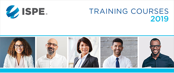 ISPE 2019 Training Catalog