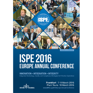 2016 Europe Annual Conference Brochure